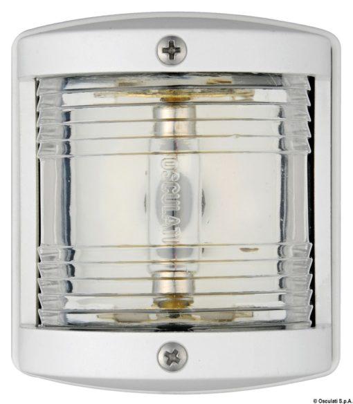 Osculati Utility 77 Watertight White Body 112.5 Left Red Navigation Light