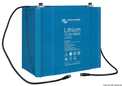 Victron lithium batteries 12.8 V 60 Ah - Code 12.415.01 3