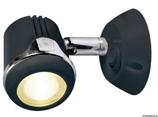 Articulated HI-POWER LED white spotlight 12/24 V - Code 13.896.01 4