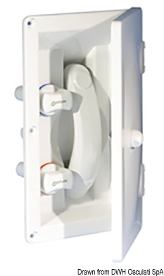 Whale flush mount shower no cover cold/hot water - Code 17.031.06 3