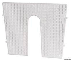 Stern protection plate RAL 9010 42 x 34 cm - Code 47.764.95 10