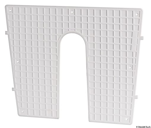 Stern protection plate RAL 9010 42 x 34 cm - Code 47.764.95 6