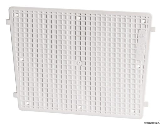 Stern protection plate RAL 9010 42 x 34 cm - Code 47.764.95 5