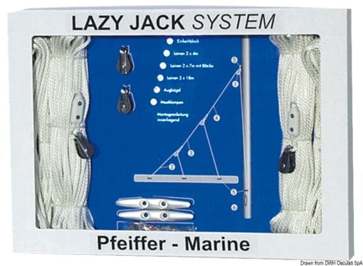 Lasy jack up to 30' - Code 67.762.00 3