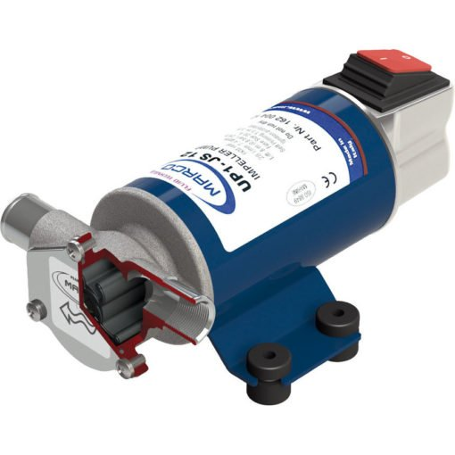 Marco UP1-JS Impeller pump 28 l/min with integrated on/off switch (12 Volt) - Code 16201012 3