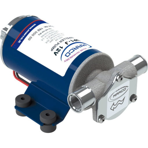 Marco UP1-J Pump, rubber impeller 28 l/min (12 Volt) - Code 16200412 3