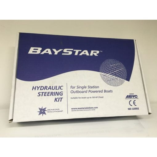 BayStar PREMIUM hydraulic steering for outboard engines up to max 150 Hp (no hoses) - code HK4300A-3 8