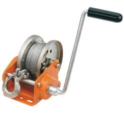 Manual winches and accessories