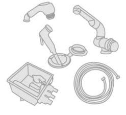 15 - Showers- Manual pumps