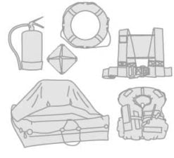 22 - Liferafts- lifejackets- lifebuoys- tenders