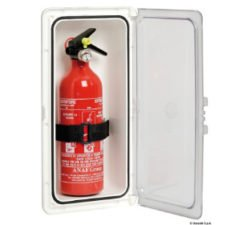 Lockers for fire extinguishers