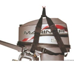 Lifting harness for outboard engines