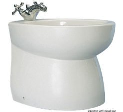 Ceramic bidet ''Blue Wave''