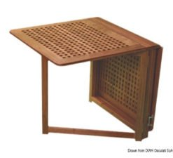 Teak tables and chairs