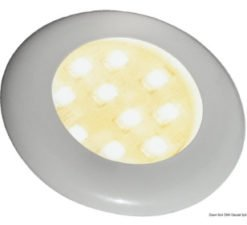Plastic spotlights and ceiling lights