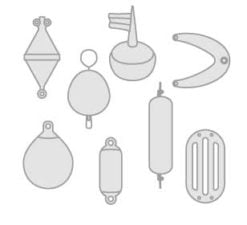 Fenders- fender guards- buoys