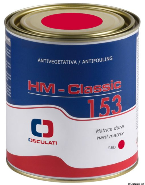 "Hard matrix antifouling paint ""HM Classic 153"" Osculati 1"