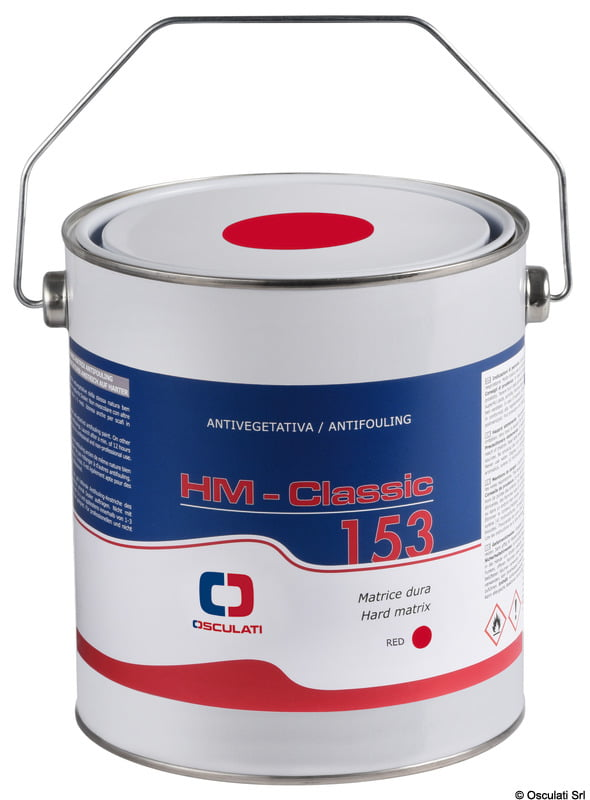 "Hard matrix antifouling paint ""HM Classic 153"" Osculati 5"